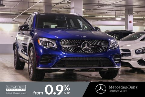 Certified Pre-Owned 2017 Mercedes-Benz GLC AMG GLC 43